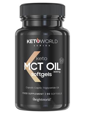 Cápsulas blandas de Aceite MCT