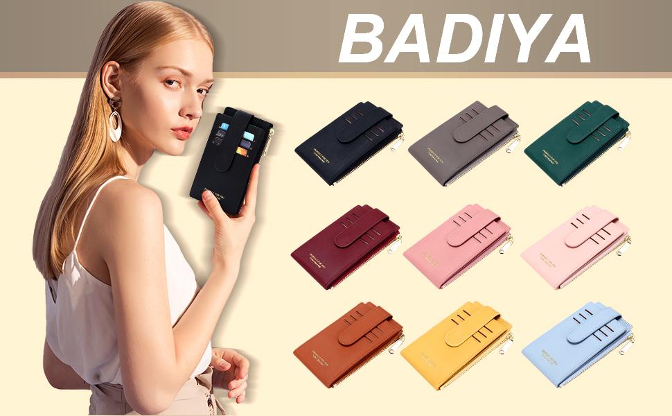 slim wallet women