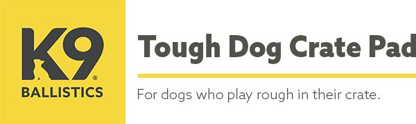 Amazon Com K9 Ballistics Tough Dog Crate Pad Washable