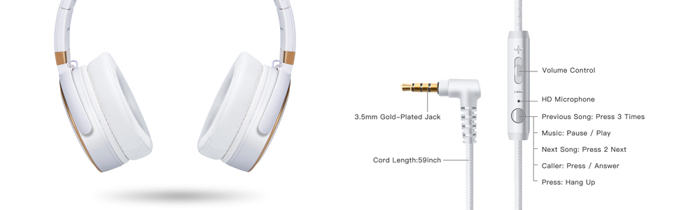 headphones with microphone, headset with microphone