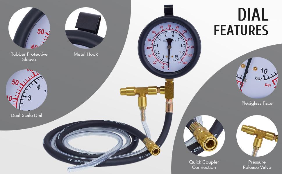 fuel pressure testers