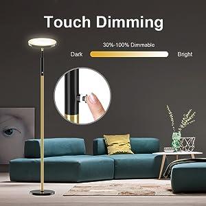 3-level adjustable brightness