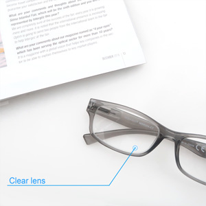 clear lens readers