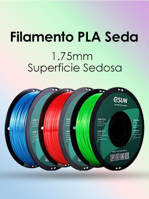 eSUN Seda PLA Filamento de Impresora 3D, Brillante Filamento PLA ...