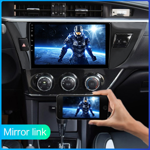 Mirror Link for iPhone Airplay and Android Phone