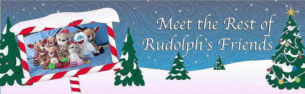Meet the Rest of Rudolphs friends