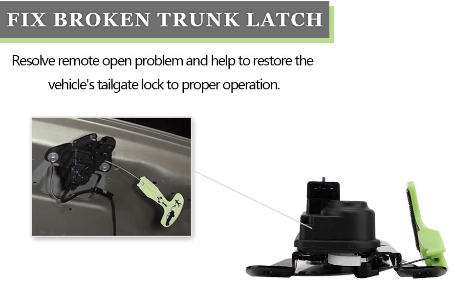 05-07 Chrysler 300 Dodge Charger Trunk Lid Lock Latch Factory Mopar OEM New