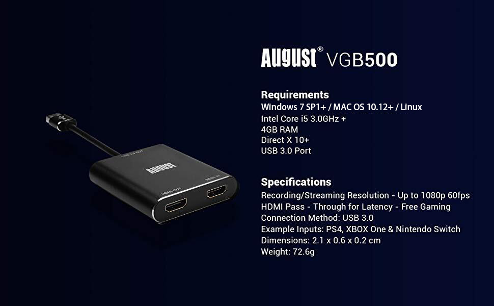 HDMI Capture Card
