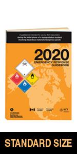 "2020 Emergency Response Guidebook (ERG) - English - 5.5"" x 7.5"" (Standard Size), Softbound"