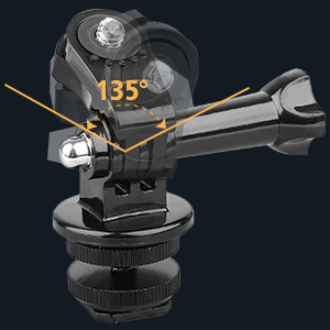 Angle Rotatable Gopro Adapter Kit-