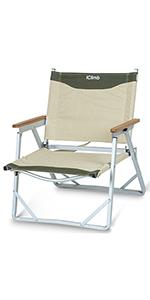 low beach chair