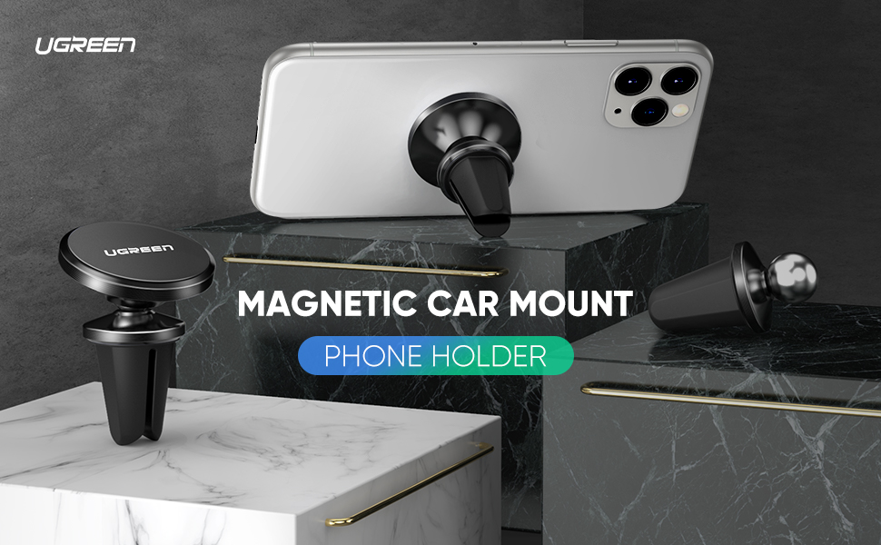 UGREEN Car Phone Mount Magnetic Air Vent Universal Magnet Cell Phone Holder