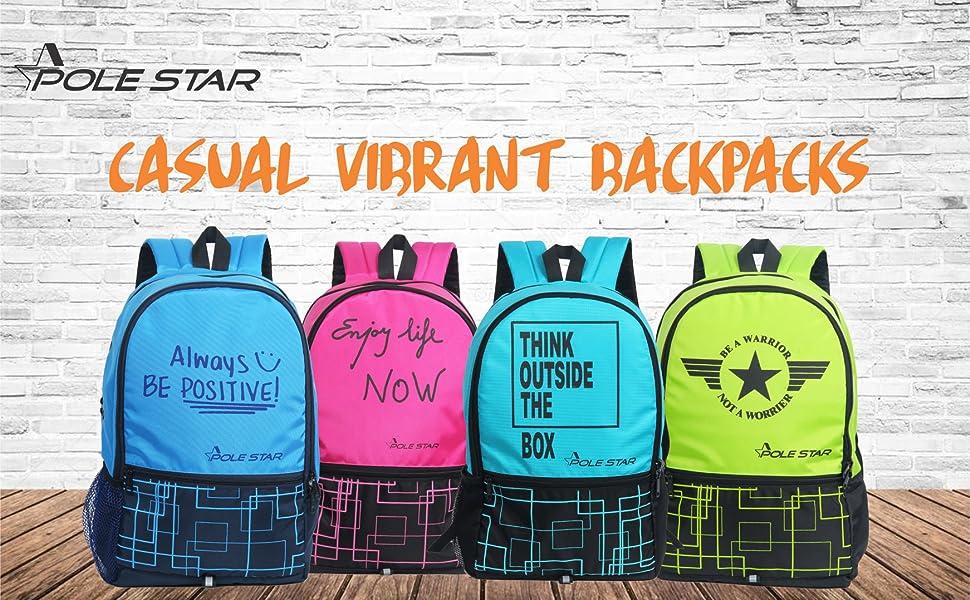 Polestar boys girl men casual laptop backpack gift rucksacks gym  schoolbag bagpack lightweight