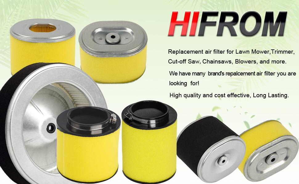 2PK Air Filter for Honda Recon 250 TRX250EX TRX250X Sportrax 17254-HM8-000