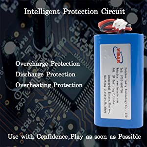 7.4V Rechargeable Lithium Battery Pack