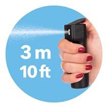 Long range pepper spray Long range mace Flip top pepper spray Flip top Mace Plegium flip top safety