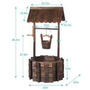 wishing wells for outdoors garden decorations outdoor yard decor garden decor outdoor decorations