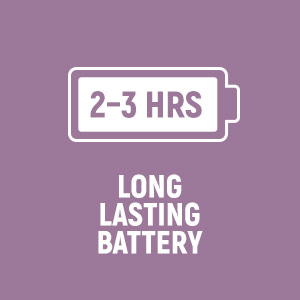 LuLu 11 has 2-3 hours battery life