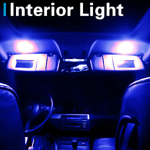 Universal T10 LED Parking Light 9 SMD Super Bright Interior Pilot License Plate