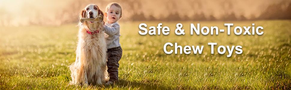 Safe& Non-toxic chew toys