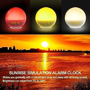 Sunrise & Sunset Simulation