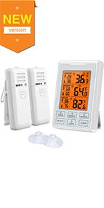 Koelkast, thermometer, vriezer, thermomet