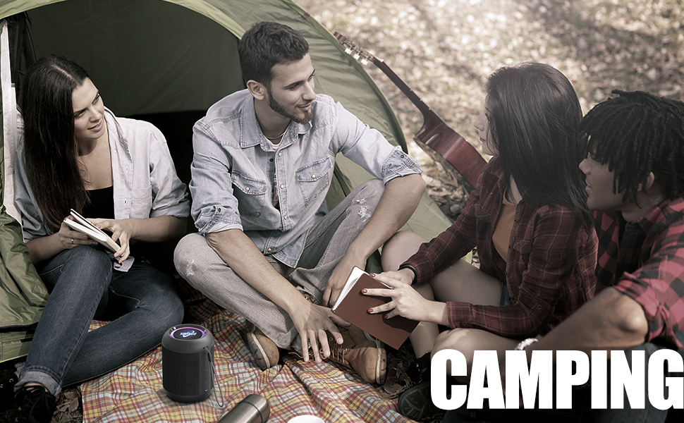 Bluetooth Speaker for Camping