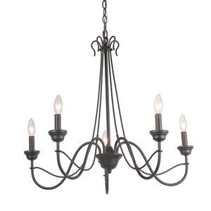 6 light chandelier