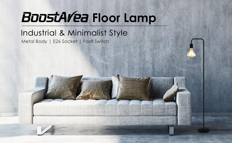 floor lamp, industrial floor lamp