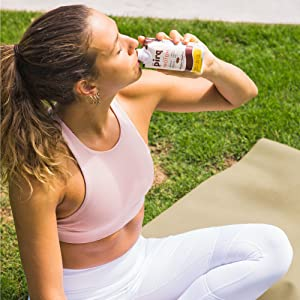 Pirq Convenient On-the-go Protein Shake Breakfast Snack Workout Protein Drink Smoothie Vegan