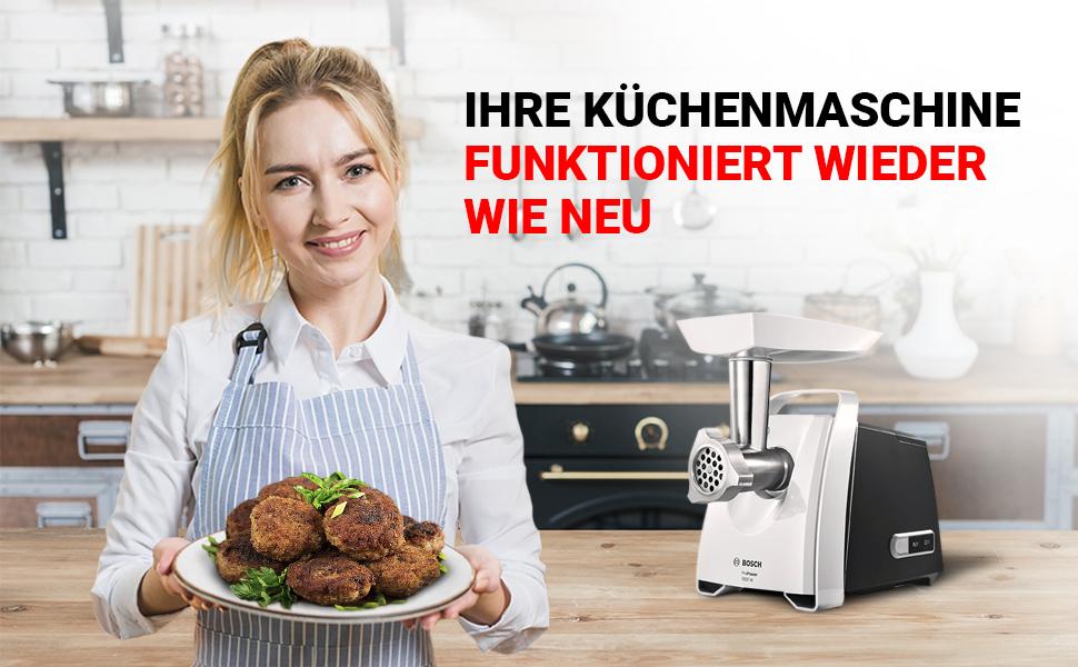 Votre robot de cuisine fonctionne comme neuf.