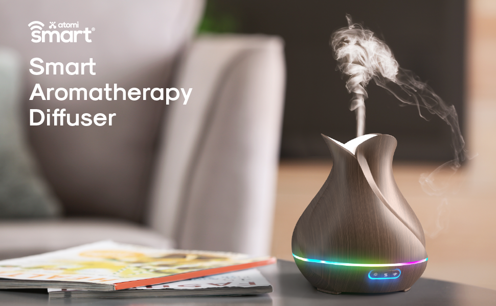 Atomi Smart Essential Oil Aromatherapy Diffuser