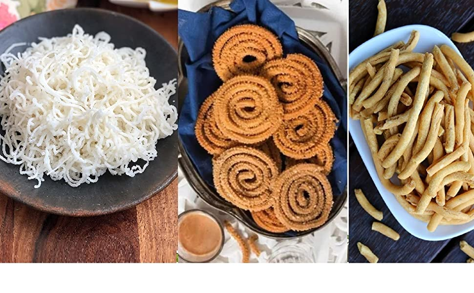 idiyappam Murukku Chakli Sev Grater Noodles Snack Namkeen Maker
