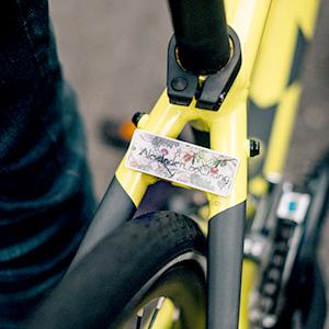 自転車につける