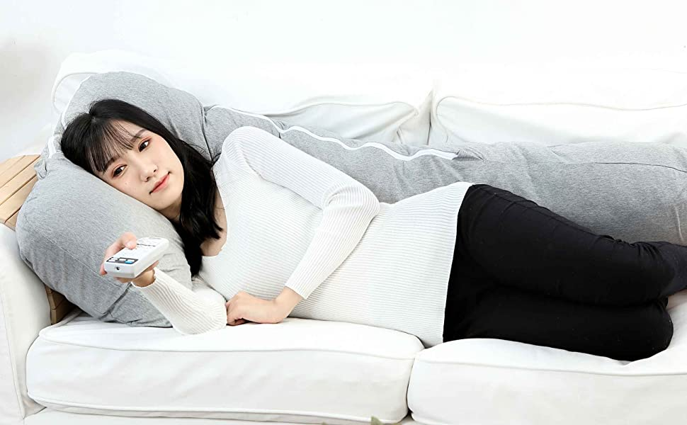 QUEEN ROSE Pregnancy Pillow with Jersey
