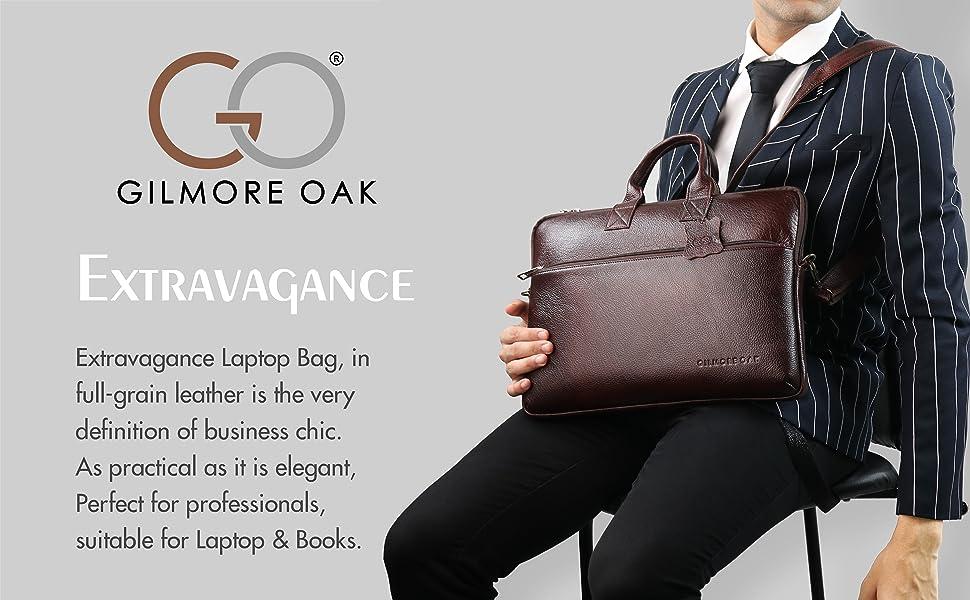 10274 Extravagance Laptop Office Professional Portfolio Messenger Sling Shoulder Leather Bag