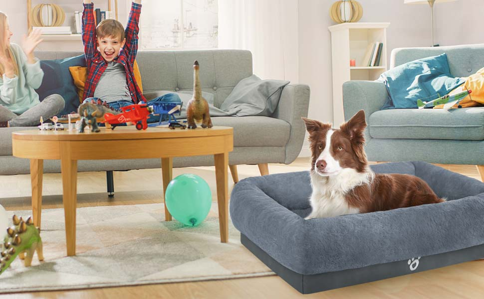 Mirkoo Memory Foam Dog Sofa