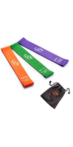 fit simplify high performance exercise loop bands with carrying case yoga bands home fitness yoga