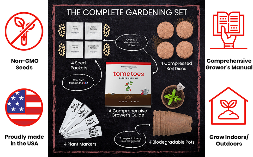 Tomato seed kit Tomatoes seed cherry tomato yellow tomato