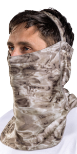male man upf spf camo fishing hunting tactical activewear protective sun protection athletic