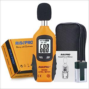 HT-80A Digital Handheld Decibel Noise Measurement Sound Level Meter Mini Portable Digital LCD Display dB Meter