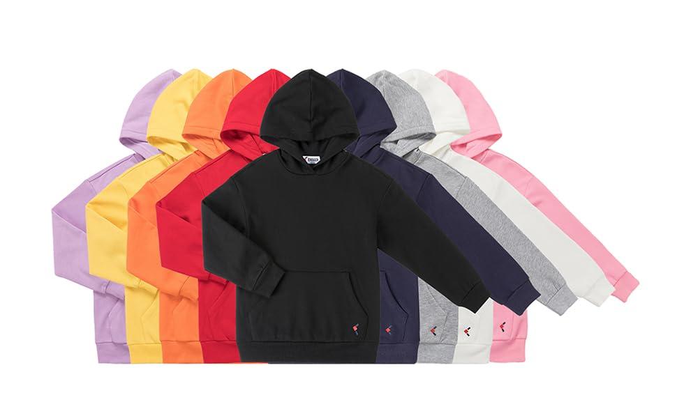 KOWDRAGON kids basic pullover hoodie.