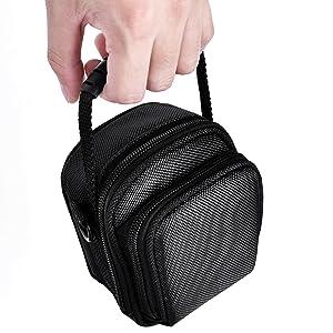 SX 720//730 Dual zipper Tough Camera Bag Case Cover For Canon PowerShot G9 G7