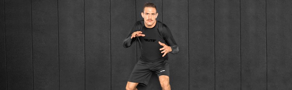 Elite Sports men full sleeves rashguard