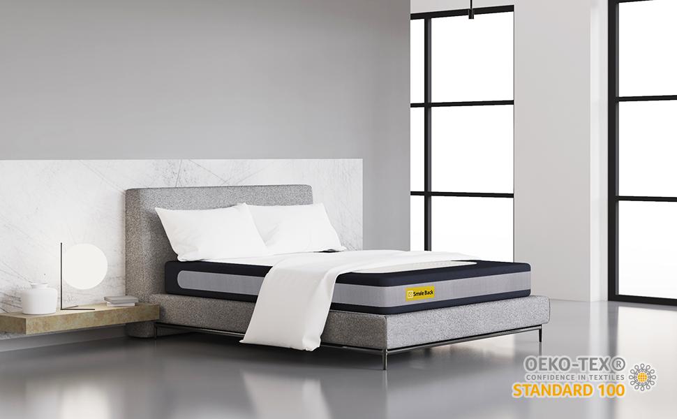 oeko tex smile back mattress bedroom