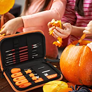 halloween carving tools