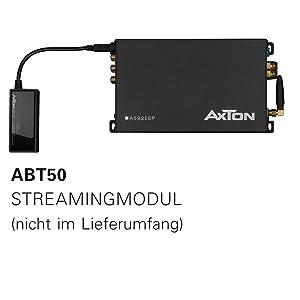 AXTON A592DSP streamt Hi Res Audiodaten