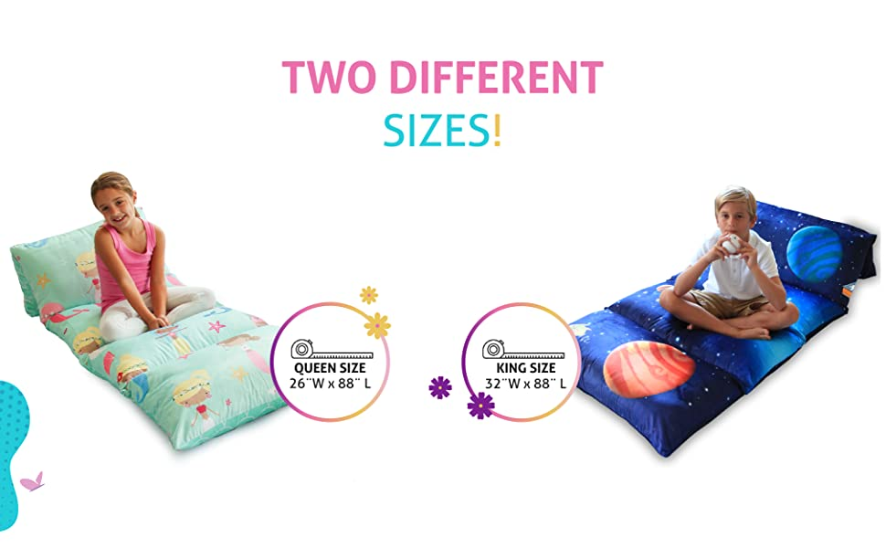 pillow beds, pillow covers, queen size, king size