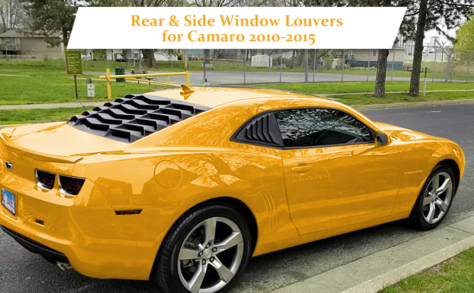 Exterior Accessories Sunluway Fit for Chevy Chevrolet Camaro 2010 ...