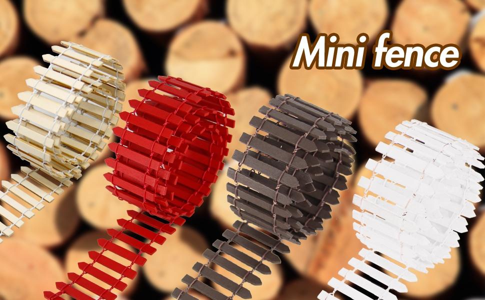 Miniature Fairy  Fence diy Crafts